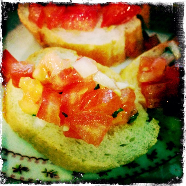 Tomaten Baguette