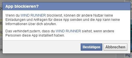 App blockieren