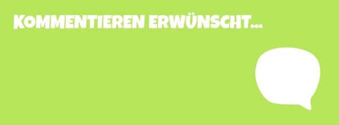 1. Blogger Kommentiertag Deutschland Banner