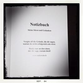 Rindlerwahn Notizbuch