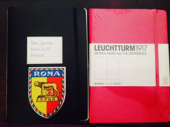 """Leuchturm 1917, die """"Android"""" Version der Notizbücher."""