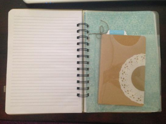 Das Notizbuch im Notizbuch