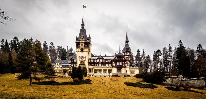 Peles Castle in Rumänien